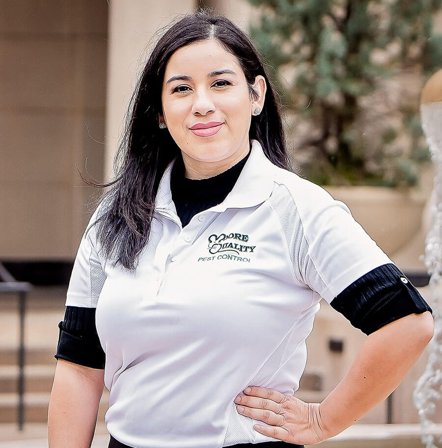 Jennie of Moore Pest Control in Tracy